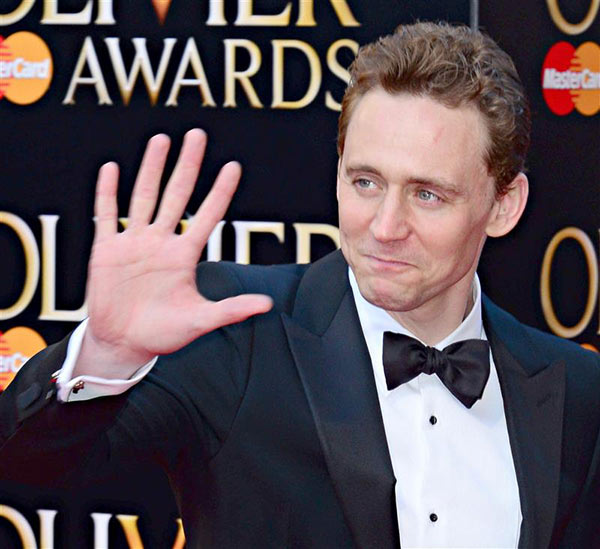 Tom Hiddleston of &#39;Thor&#39; fame &#40;he plays Loki&#41; appears at the 2014 Laurence Olivier Awards in London on April 13, 2014. The ceremony honors the best in London theatre. Hiddleston was nominated for his role in the Shakespeare play &#39;Coriolanus.&#39; <span class=meta>(Nils Jorgensen &#47; Startraksphoto.com)</span>