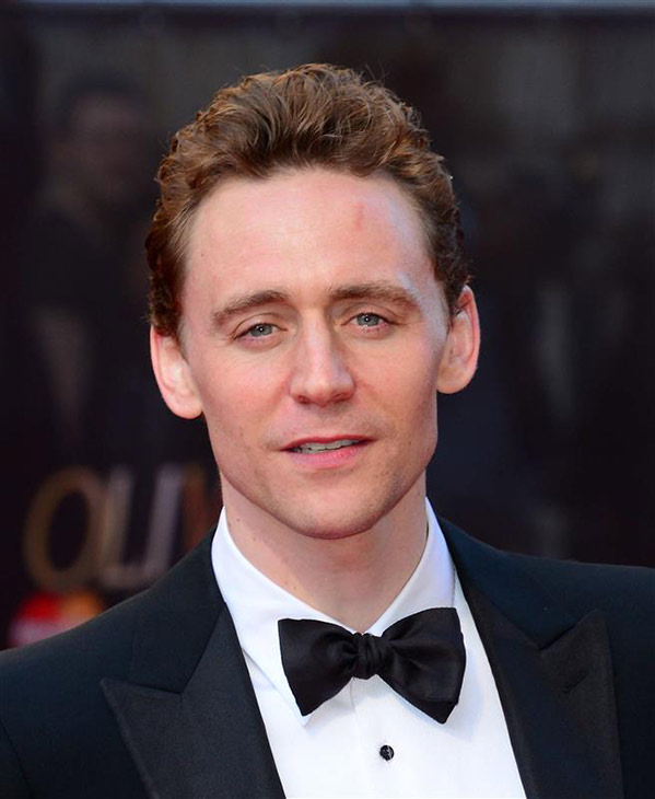 Tom Hiddleston of 'Thor' fame (he plays Loki) appears at the 2014 Laurence Olivier Awards in London on April 13, 2014. The ceremony honors the best in London theatre. Hiddleston was nominated for his role in the Shakespeare play 'Coriolanus.'