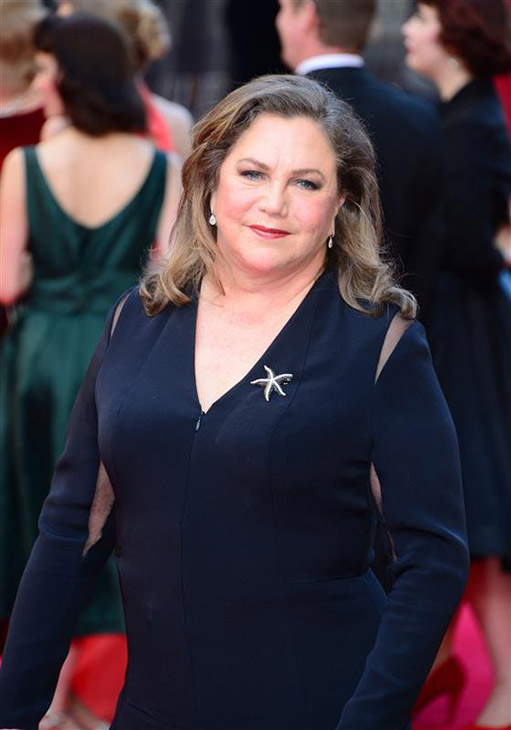 Actress Kathleen Turner appears at the 2014 Laurence Olivier Awards in London on April 13, 2014. <span class=meta>(Nils Jorgensen &#47; Startraksphoto.com)</span>