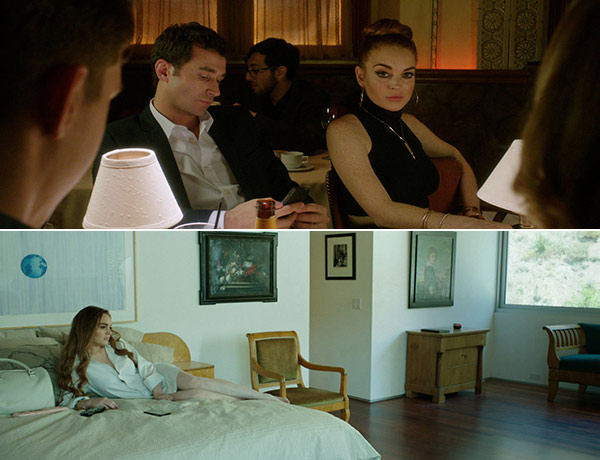 Lindsay Lohan appears in scenes from the 2013 film The Canyons. - Provided courtesy of IFC Films