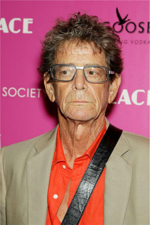 Singer Lou Reed attends a screening of 'Lovelace,' hosted by the Cinema Society and MCM with Grey Goose, at the Metropolitan Museum of Art (MoMa) in New York on July 30, 2013.