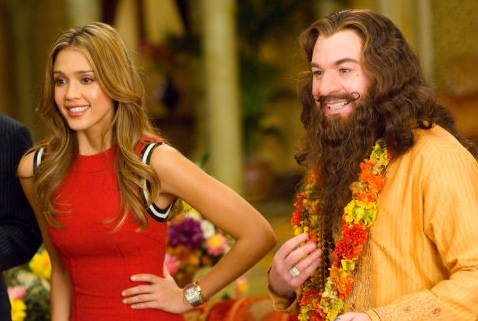 The comedy film &#39;The Love Guru,&#39; starring Mike Myers and Jessica Alba, received the Razzie for Worst Picture of 2008. <span class=meta>(Paramount Pictures)</span>