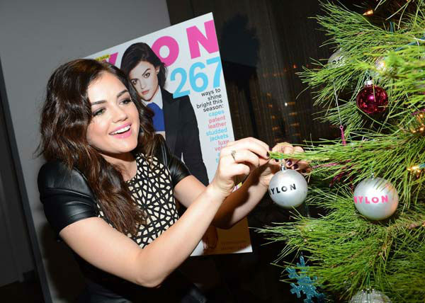 "<div class=""meta image-caption""><div class=""origin-logo origin-image ""><span></span></div><span class=""caption-text"">Lucy Hale attends the launch party for Nylon Magazine's December/January 2013 issue at The Wine Gallery at The Andaz West Hollywood on Dec. 7, 2012. (Photo/WireImage)</span></div>"