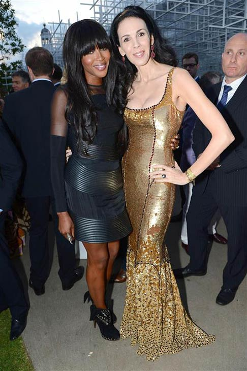 "<div class=""meta image-caption""><div class=""origin-logo origin-image ""><span></span></div><span class=""caption-text"">L'Wren Scott appears with supermodel Naomi Campbell at the 2013 Serpentine Summer Party at the Serpentine Pavillion in London on June 26, 2013. (Richard Young / Rex / Startraksphoto.com)</span></div>"