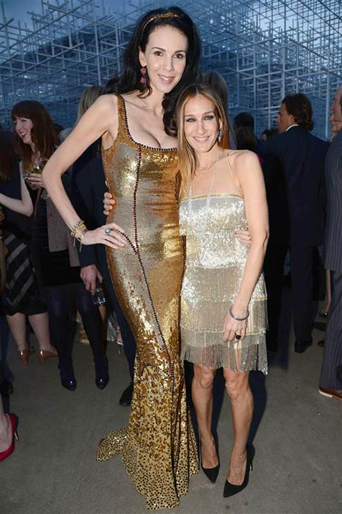 L&#39;Wren Scott appears with Sarah Jessica Parker at the 2013 Serpentine Summer Party at the Serpentine Pavillion in London on June 26, 2013. <span class=meta>(Richard Young &#47; Rex &#47; Startraksphoto.com)</span>