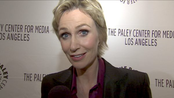 Jane Lynch turns 52 on July 14, 2012. The actress is known for movies such as &#39;The 40 Year Old Virgin,&#39; &#39;Talladega Nights: The Ballad of Ricky Bobby&#39; and the show &#39;Glee.&#39;&#40;Pictured: Jane Lynch says she thinks Sue Sylvester is ready to throw down the gauntlet at the members of &#39;Glee.&#39; She spoke to OnTheRedCarpet.com at Paleyfest on March 16, 2011.&#41; <span class=meta>(OTRC)</span>