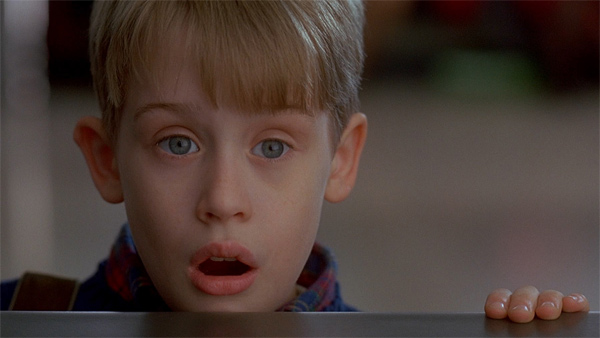 Macaulay Culkin appears in a scene from the 1992 film 'Home Alone 2: Lost in New York.'
