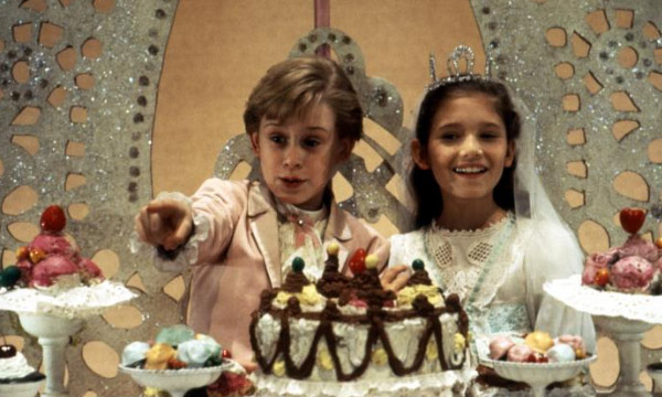 Macaulay Culkin appears as the Nutcracker Prince and Jessica Lynn Cohen stars as Marie in a scene from the 1993 film 'The Nutcracker.'