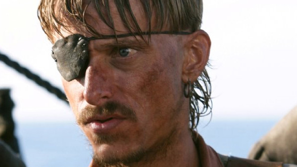 Mackenzie Crook appears in a scene from the 2007 film 'Pirates of the Caribbean: At World's End.'