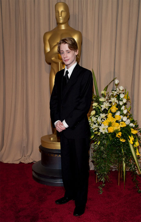 Macaulay Culkin arrives at the 82nd Annual...