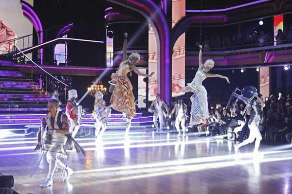 "<div class=""meta ""><span class=""caption-text "">The 'Macy's Stars of Dance' featured the work of choreographers RJ Durell and Nick Florez on 'Dancing With The Stars: The Results Show' on October 30, 2012. The two have worked with Katy Perry, Cher Lloyd and, most recently, Pink. Their dance was a modern day twist on Marie Antoinette. (ABC Photo)</span></div>"
