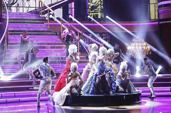 "<div class=""meta image-caption""><div class=""origin-logo origin-image ""><span></span></div><span class=""caption-text"">The 'Macy's Stars of Dance' featured the work of choreographers RJ Durell and Nick Florez on 'Dancing With The Stars: The Results Show' on October 30, 2012. The two have worked with Katy Perry, Cher Lloyd and, most recently, Pink. Their dance was a modern day twist on Marie Antoinette. (ABC Photo)</span></div>"