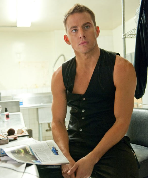 Channing Tatum appears in a still from Warner Bros. Pictures&#39; dramatic 2012 comedy &#39;Magic Mike.&#39; <span class=meta>(Warner Bros. Pictures)</span>