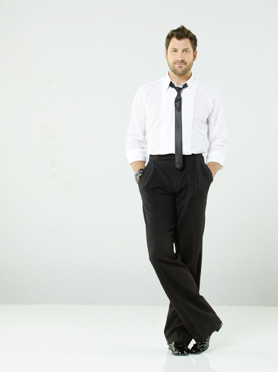 Maksim Chmerkovskiy is back for his tenth season on season 12 of &#39;Dancing with the Stars,&#39; which premieres on March 21 at 8 p.m. ET. His partner is Kirstie Alley, a two-time Emmy winning actress who starred in &#39;Cheers&#39; and &#39;Kirstie Alley&#39;s Big Life.&#39; <span class=meta>(ABC Photo&#47; Bob D&#39;Amico)</span>