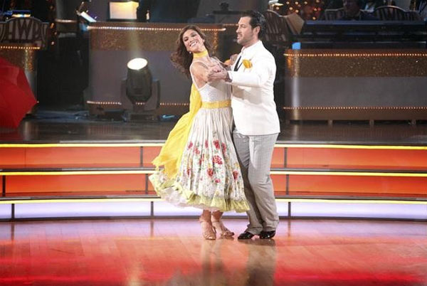 Hope Solo returned to the ballroom for a final performance with partner Maksim Chmerkovskiy on 'Dancing With The Stars: The Results Show,' on Tuesday, November 22, 2011.