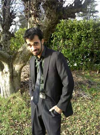 Sanjaya Malakar in a photo posted on his personal Facebook on Dec. 8, 2010.