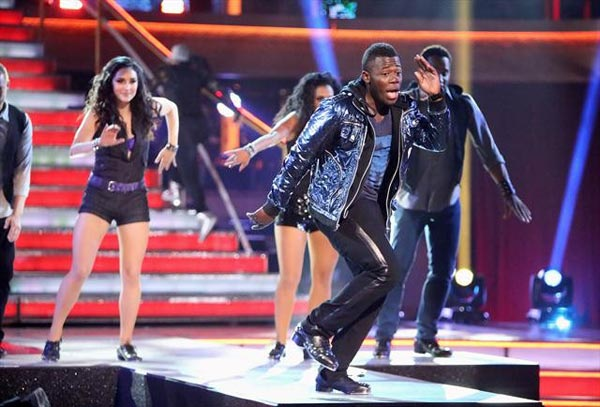 "<div class=""meta ""><span class=""caption-text "">The season's first 'AT& T Spotlight Performance' on 'Dancing With The Stars: The Results Show' on Tuesday, Oct. 9, 2012, featured Joshua Johnson, a young man who raised money to attend Penn State University by tap dancing on the New York City subway, holding out a hat for donations, after his mother had lost her job and the two had been living in homeless shelters for years. (ABC Photo)</span></div>"