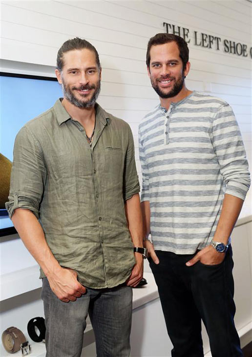 Joe Manganiello of &#39;True Blood&#39; and &#39;Magic Mike&#39; appear at a preview party for the Left Shoe Company&#39;s new store on Melrose Ave. in Hollywood, California on June 10, 2013. <span class=meta>(Sara Jaye Weiss &#47; Startraksphoto.com)</span>