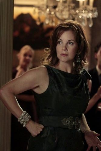 Margaret Colin in a scene from a 2010 episode of...