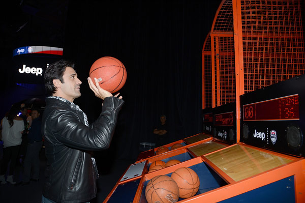"<div class=""meta image-caption""><div class=""origin-logo origin-image ""><span></span></div><span class=""caption-text"">Gilles Marini attends the launch of the 2012 Jeep Wrangler Unlimited Altitude Edition at the Los Angeles Center Studios on April 22, 2012. Jeep is a sponsor of USA Basketball. Celebrities shot baskets at the Pop-a-Shot and danced to beats spun by DJ Biz Markie. (WireImage / Chris Weeks)</span></div>"