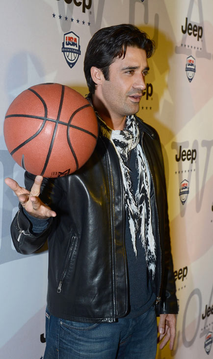Gilles Marini attends the launch of the 2012...
