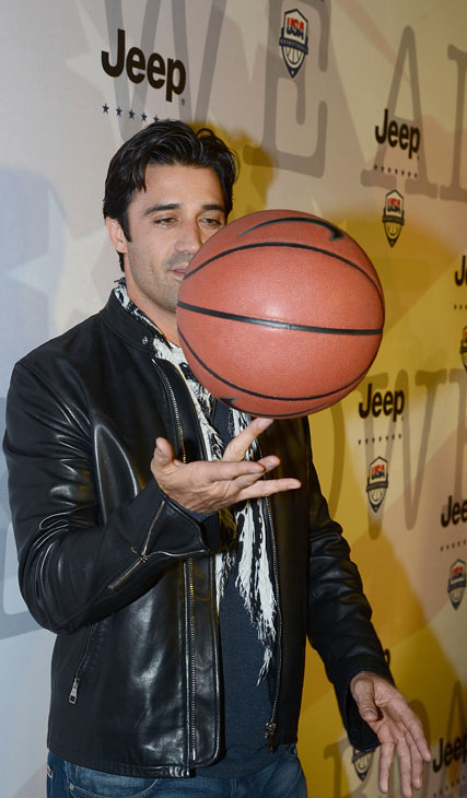 Gilles Marini attends the launch of the 2012 Jeep Wrangler Unlimited Altitude Edition at the Los Angeles Center Studios on April 22, 2012. Jeep is a sponsor of USA Basketball. Celebrities shot baskets at the Pop-a-Shot and danced to beats spun by DJ Biz Markie. <span class=meta>(WireImage &#47; Chris Weeks)</span>