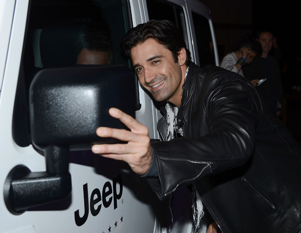 "<div class=""meta ""><span class=""caption-text "">Gilles Marini attends the launch of the 2012 Jeep Wrangler Unlimited Altitude Edition at the Los Angeles Center Studios on April 22, 2012. Jeep is a sponsor of USA Basketball. Celebrities shot baskets at the Pop-a-Shot and danced to beats spun by DJ Biz Markie. (WireImage / Chris Weeks)</span></div>"