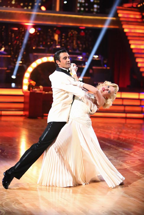 "<div class=""meta ""><span class=""caption-text "">French actor Gilles Marini and his partner Peta Murgatroyd received 24 out of 30 points from the judges for their Fox Trot on the season premiere of 'Dancing With The Stars: All-Stars,' which aired on September 24, 2012.  (ABC Photo/ Adam Taylor)</span></div>"