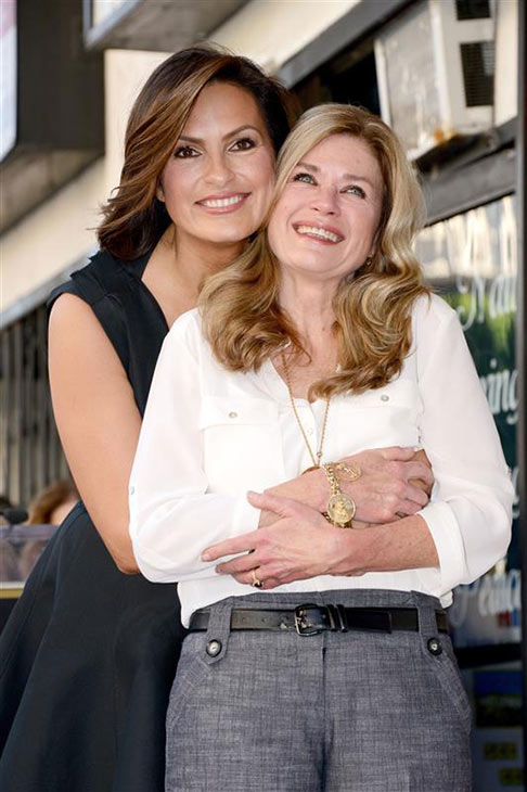 Mariska Hargitay appears with half-sister Jayne Marie Mansfield while getting a star on the Hollywood Walk of Fame on Nov. 8, 2013. <span class=meta>(Lionel Hahn &#47; ABUSA &#47; Startraksphoto.com)</span>