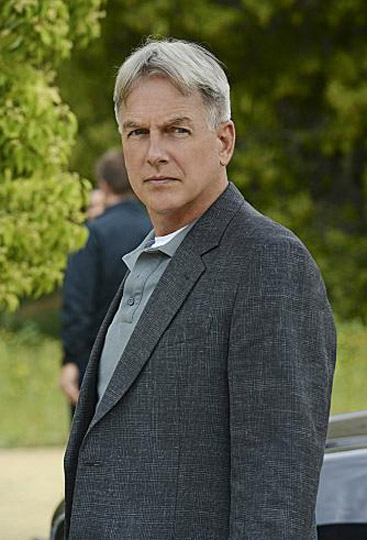 Mark Harmon appears in a scene from a 2012 episode of 'NCIS.'
