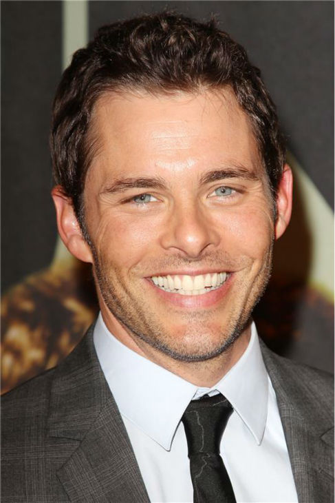 "<div class=""meta ""><span class=""caption-text "">James Marsden attends the premiere of the film '2 Guns' at the SVA Theatre in New York on July 29, 2013. (Kristina Bumphrey / Startraksphoto.com)</span></div>"