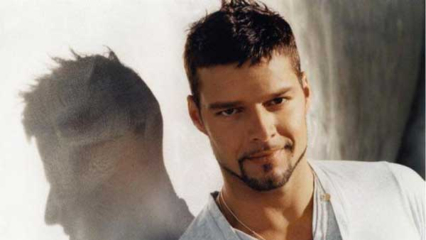 Ricky Martin in a promotional photo from his official MySpace.