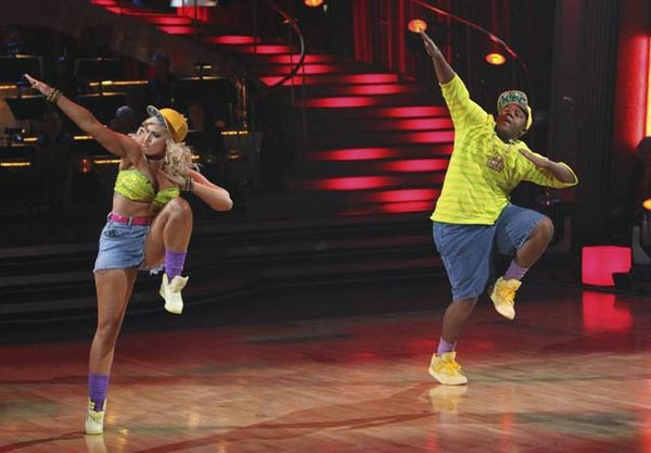 Disney Channel star Kyle Massey and pro-dancer Lacey Schwimmer took second place in season 11. &#40;Pictured: Kyle Massey and Lacey Schwimmer perform on &#39;Dancing With the Stars&#39; on Monday, Nov. 22, 2010.&#41; <span class=meta>(ABC Photo&#47;Adam Larkey)</span>