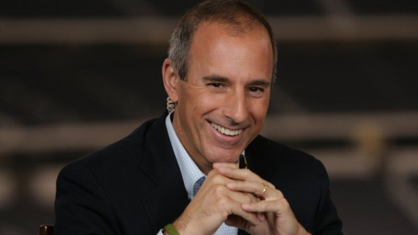 Matt Lauer appears in a photo from the television show 'Today.'