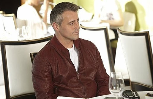 Matt LeBlanc appears in a scene from the show...