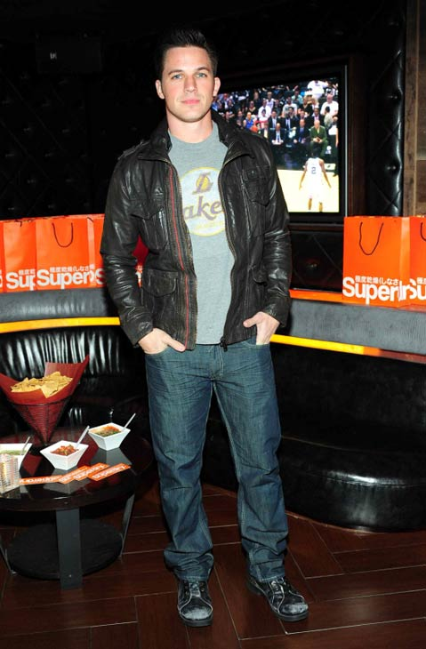 Matt Lanter of &#39;90210&#39; fame celebrated the opening of Superdry USA&#39;s second Los Angeles store on Santa Monica&#39;s Third Street Promenade at the Los Angeles Lakers&#39; suite at Hyde Lounge in Staples Center in Los Angeles on March 23, 2012, during the team&#39;s game against the Portland Trail Blazers. <span class=meta>(StarTraksPhoto.com)</span>