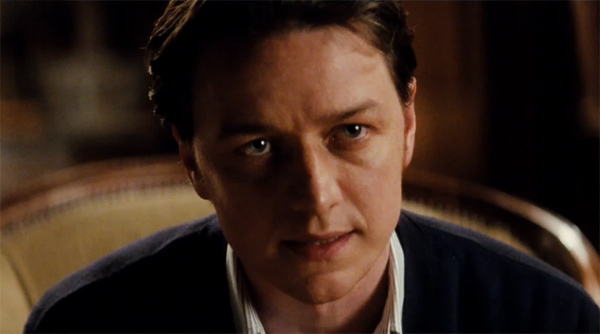 James McAvoy, who plays Professor Charles...