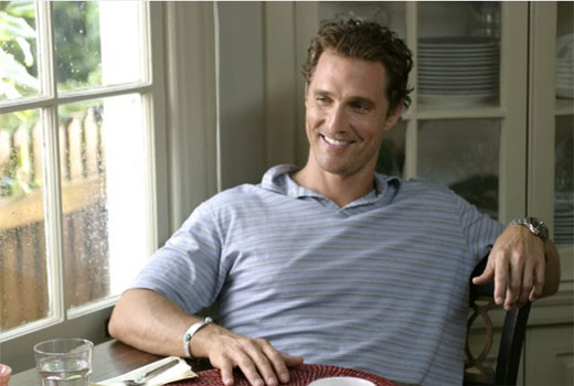 Before his role as the leading man in several romantic-comedies, Matthew McConaughey wanted to get away from Texas for a while so he spent a year in Australia as a Rotary exchange student. In order to support himself, McConaughey was hard at work cleaning out chicken coops and washing dishes. <span class=meta>(Paramount Pictures&#47;Scott Rudin Productions)</span>