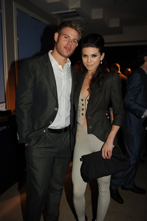 AnnaLynne McCord and '90210' co-star Trevor Donovan appear at an intimate cocktail party to celebrate the launch of the Joseph Abboud watch collection at the Sunset Tower Hotel in Los Angeles on Thursday, June 16, 2011. =