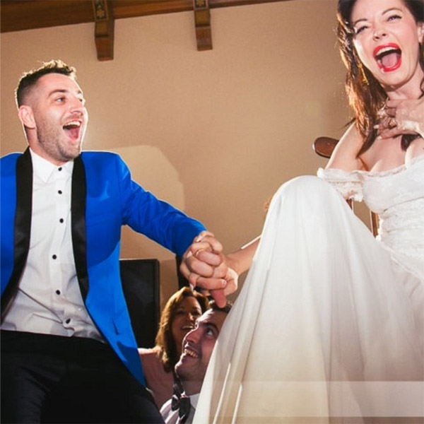 Rose McGowan posted this photo of herself with her new husband on their wedding day on her Instagram page on Oct. 24, 2013.  The former &#39;Charmed&#39; star wed artist Davey Detail at the Paramour Mansion in Los Angeles on Oct. 12. <span class=meta>(instagram.com&#47;p&#47;f29owjgYn_&#47; instagram.com&#47;rosemcgowan)</span>