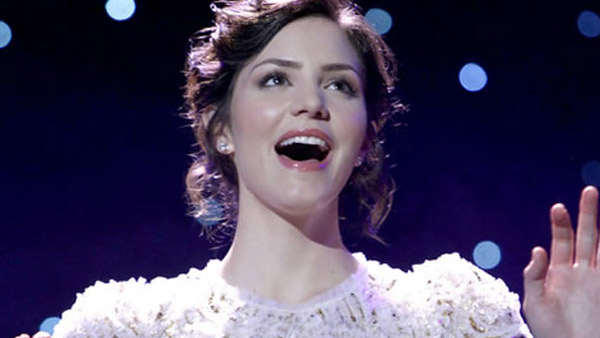 Katharine McPhee appears in a scene from the NBC series 'Smash,'