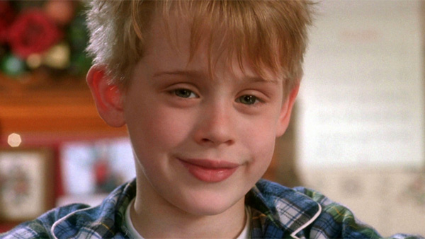 Macaulay Culkin appears in a scene from the 1990 film 'Home Alone.'