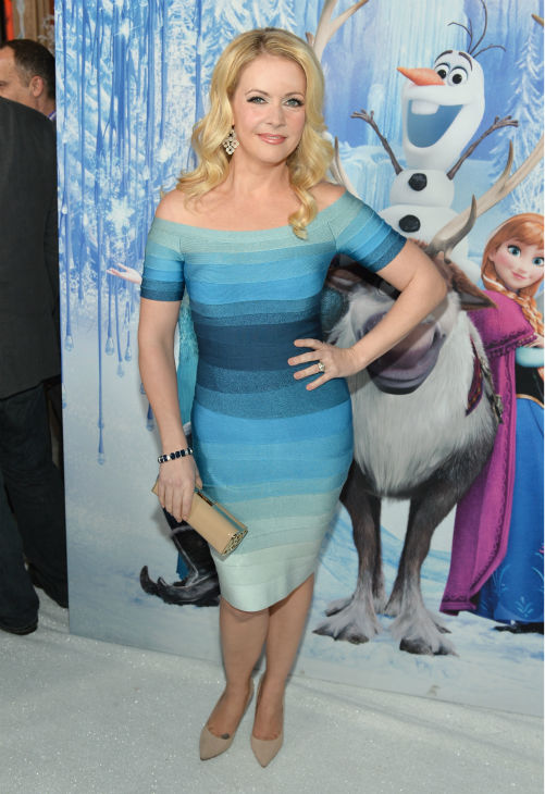 Melissa Joan Hart attends the premiere of Disney&#39;s &#39;Frozen&#39; at the El Capitan Theatre in Los Angeles on Nov. 19, 2013. Her song, &#39;Let It Go,&#39; is featured on the movie&#39;s soundtrack. <span class=meta>(Alberto E. Rodriguez &#47; WireImage for Walt Disney Studios)</span>