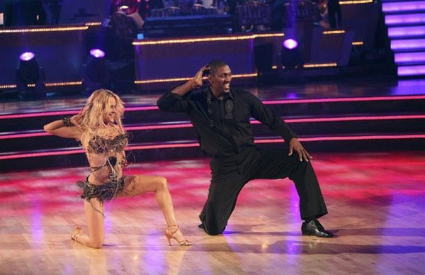 "<div class=""meta image-caption""><div class=""origin-logo origin-image ""><span></span></div><span class=""caption-text"">Metta World Peace, formerly known as Ron Artest, returned to the ballroom for a final performance on 'Dancing With The Stars: The Results Show,' on Tuesday, November 22, 2011. He appears here with show partner Peta Murgatroyd. (ABC / Adam Taylor)</span></div>"