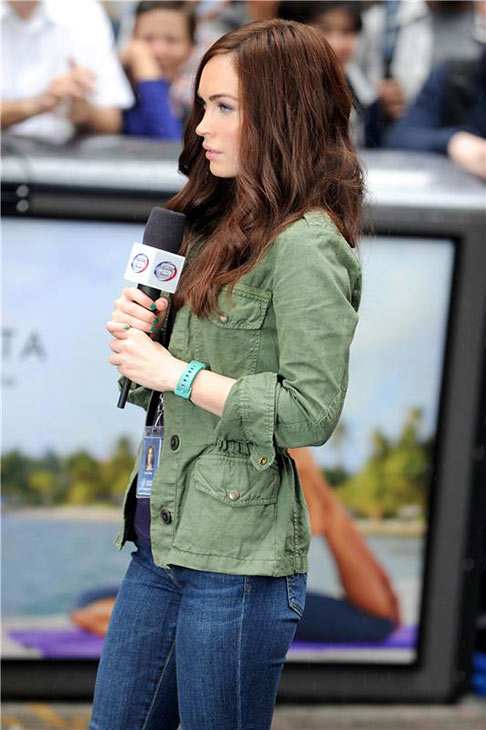 "<div class=""meta ""><span class=""caption-text "">Megan Fox films the 2014 movie 'Teenage Mutant Ninja Turtles' in New York on July 22, 2013. She plays TV reporter April O'Neil. (Future Image / startraksphoto.com)</span></div>"