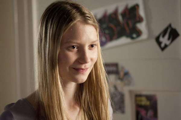 Mia Wasikowska appears in a still from her 2010...