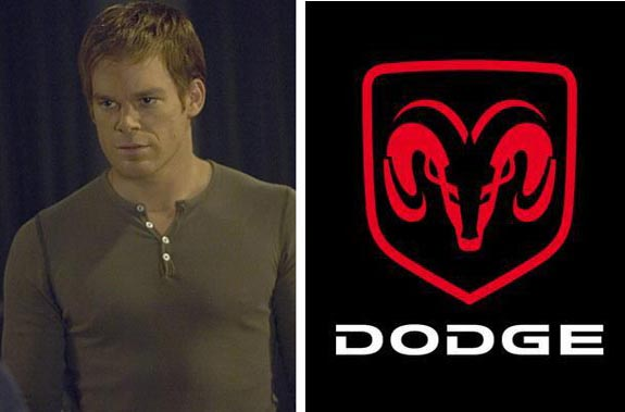 Actor Michael C. Hall was the voice behind several Dodge commercials in 2009.  <span class=meta>(Showtime&#47;Dodge)</span>