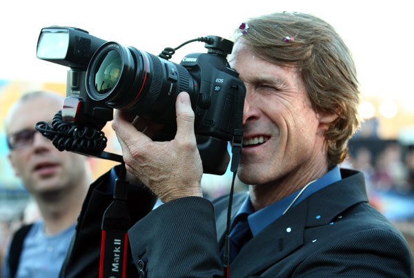 Director Michael Bay attends a 'Transformers 3:...