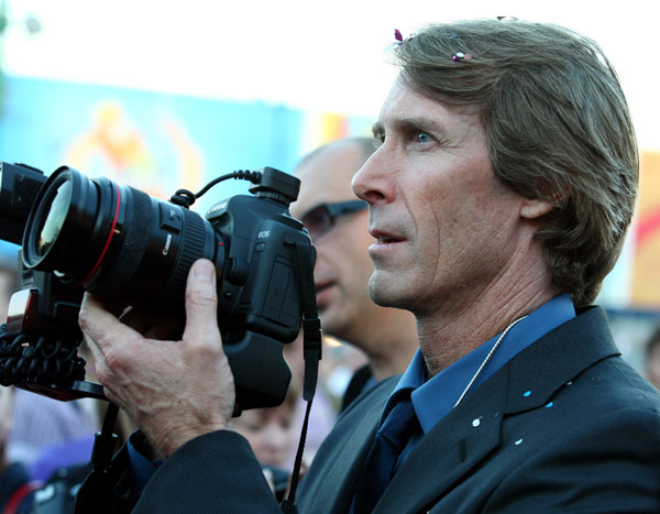 Director Michael Bay attends a &#39;Transformers 3: Dark of the Moon&#39; event, which included a Linkin Park concert, in Moscow, Russia on June 23, 2011. <span class=meta>(Oleg Nikishin &#47; Getty Images &#47; Royalty-free)</span>