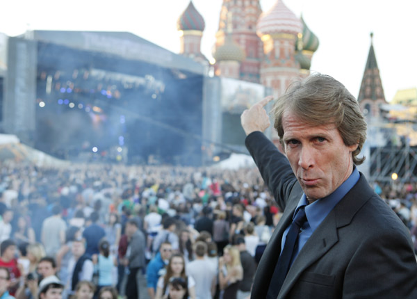 "<div class=""meta image-caption""><div class=""origin-logo origin-image ""><span></span></div><span class=""caption-text"">Director Michael Bay attends a 'Transformers 3: Dark of the Moon' event, which included a Linkin Park concert, in Moscow, Russia on June 23, 2011. (Oleg Nikishin / Getty Images / Royalty-free)</span></div>"